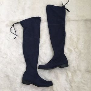 Unisa Suede Over the Knee Boots